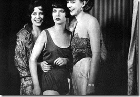 Diary of a Lost Girl (Germany 1929)   aka  Das Tagebuch einer Verlorenen  Directed by Georg Wilhelm Pabst Shown center: Louise Brooks