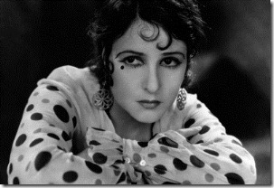 1928: Norma Talmadge (1893 - 1957) the American silent heroine, plays an Austrian girl in the film 'The Woman Disputed', directed by Henry King and Sam Taylor for United Artists.